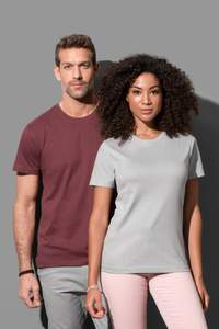 Crew neck T-shirt for men