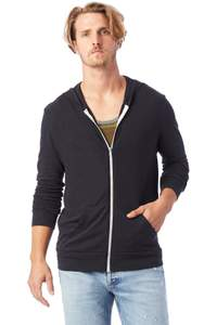 Eco-jersey zip hoodie