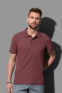 Short sleeve polo shirt for men