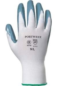 Flexo grip nitrile glove