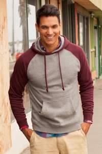 Men´s Lightweight Raglan Hooded Pullover